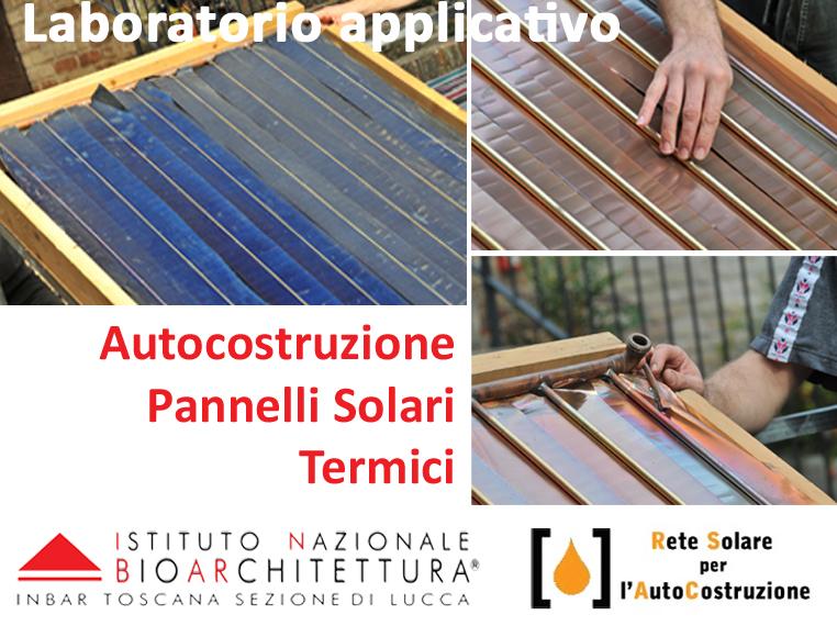 Come costruire pannelli solari per la produzione di acqua for Pannelli solari per acqua calda ultima generazione